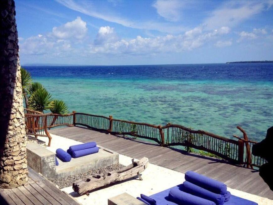 Sonnenterrasse Amatoa Bira Resort, Indonesien Rundreisen, Sulawesi