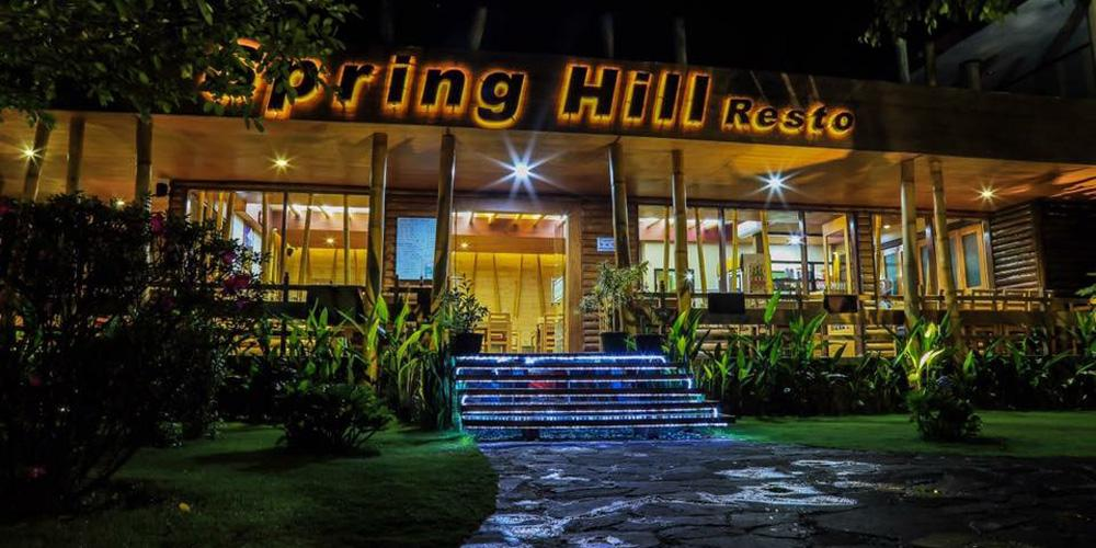 Indonesien Privatreise, Spring Hill Hotel, Restaurant