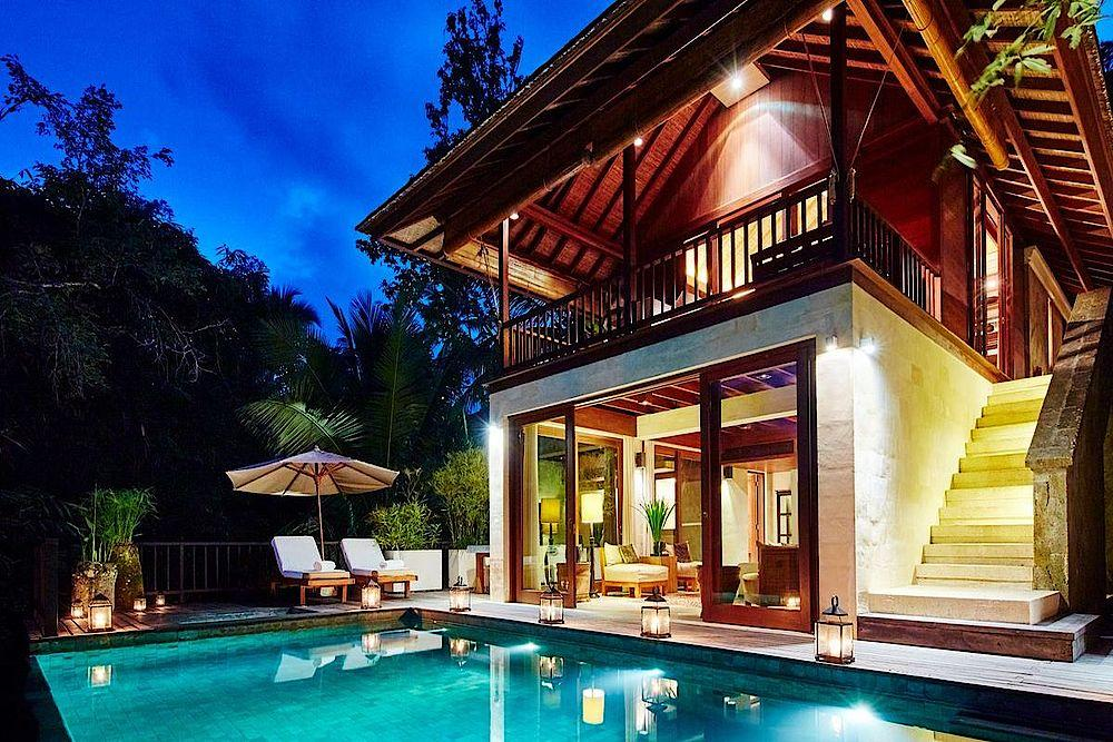 Poolbereich, COMO Shambhala Estate, Bali, Indonesien Privatreise