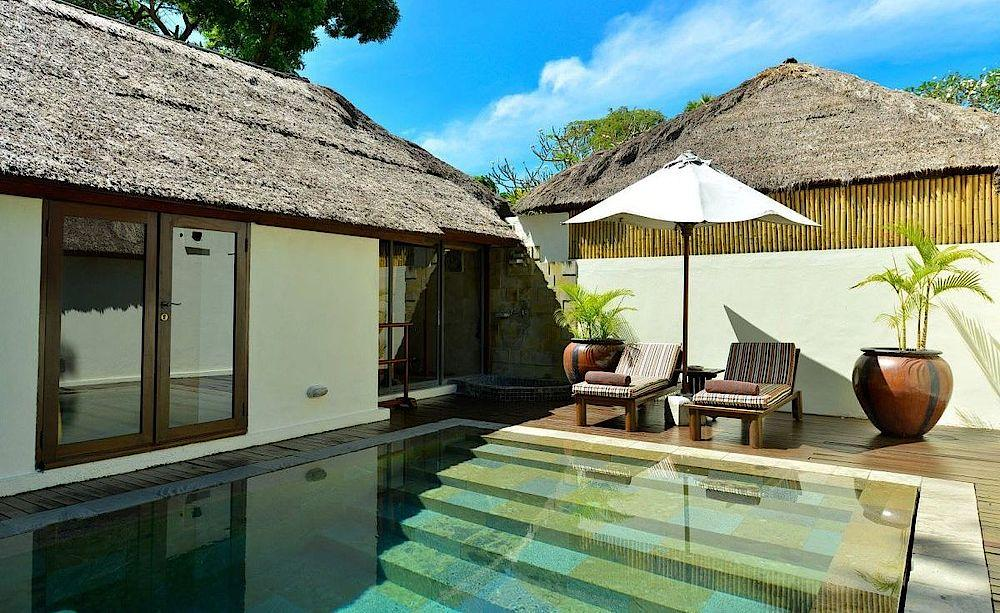 Luxury Cottage mit Pool, Belmond Jimbaran Puri, Bali, Indonesien Rundreise