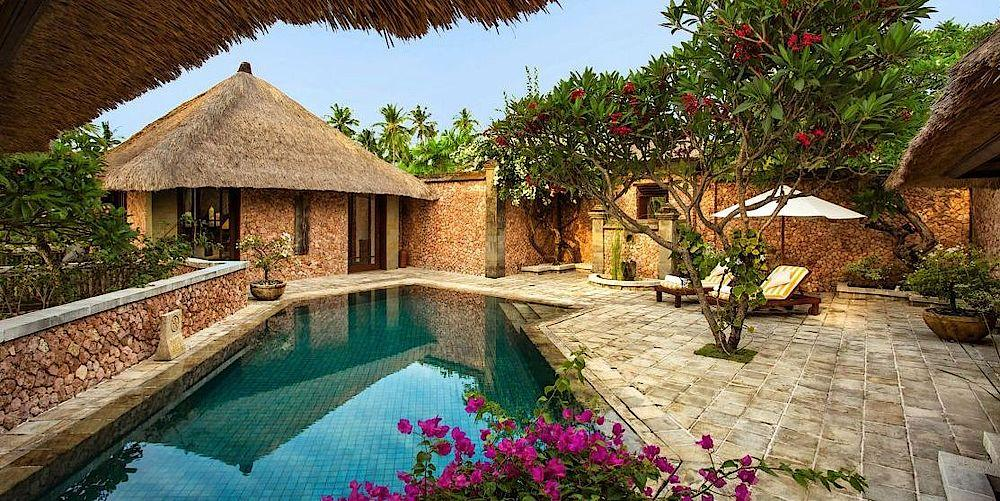 Royal Villa, The Oberoi Beach Resort Lombok, Indonesien Rundreise